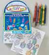 Chanukah Carry-Along Activity Set with Crayons