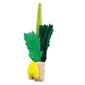 Plush Lulav and Etrog Set