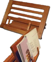 Bamboo Book Stand