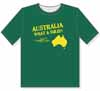 Australia- What a Shlep! - Screen printed T-Shirt
