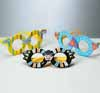 Purim Glasses with Foam Decorations