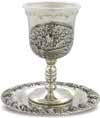 Nickel Kiddush Cup