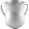 Aluminum Wash Cup White