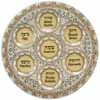 Glass Passover Tray 40cm