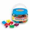 Alef Bet Magnetic Letters in Reusable Tub