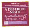 The Family Participation Haggadah: A DIFFERENT NIGHT - Compact Edition
