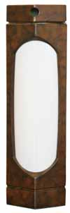 Shabbat Lamp Brown