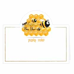New Year Bee Placecards