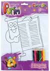 Purim Colouring Set