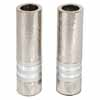 Cylinder Candlesticks - Rings Silver