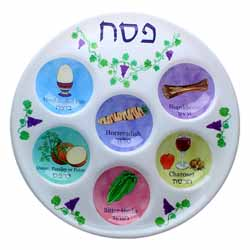 Disposable Seder Plate 5 Pack