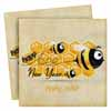New Year Bee Napkins