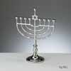 Nickelplate Traditional Menorah