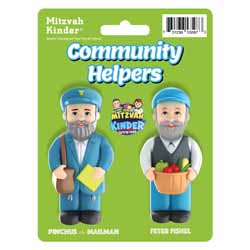 Mitzvah Kinder Community Helpers