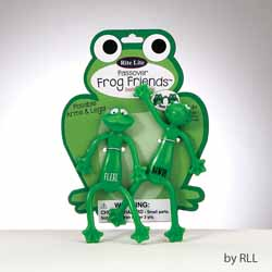 Passover Bendable Frog Friends