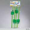 Passover Frog-shaped Straws