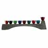 Hammered Menorah